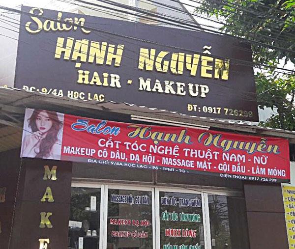 biển hiệu makeup giá rẻ