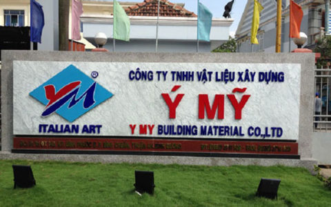 biển quảng cáo vật liệu xây dựng