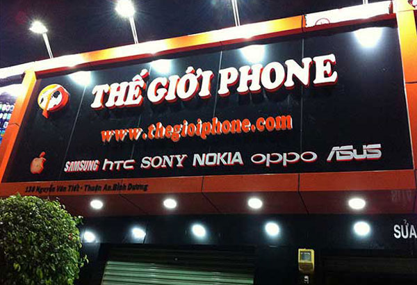 dịch vụ làm biển quảng cáo điện thoại tại hải phòng
