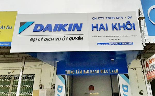 thi công biển quảng cáo điện lạnh tại Hải Phòng